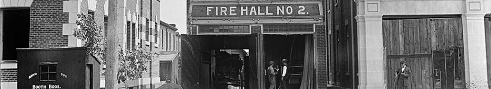 East Toronto Fire Hall No 2, 1911 Main Street, east side, south of Swanwick Avenue.